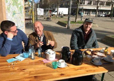 Bürgercafé @ Pavillon am Altmarkt Oberhausen am 06. April 2018