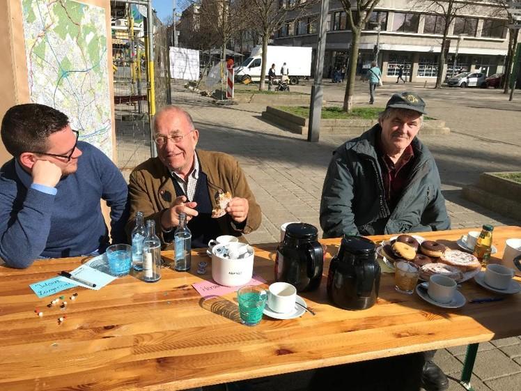 Citizens' Café @ Pavillon am Altmarkt Oberhausen, 6th of April 2018